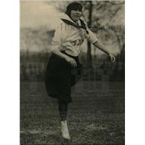 1921 Press Photo Sandusky College Sr, Ernestine Weier in Ohio