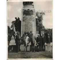 1930 Press Photo Washington Wolfgang Putlitz  F Trubee Davison and Frank Steel