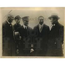 1927 Press Photo Prince Higesi Yuni Japan SS McKauley American Mail Line Boat