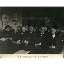 1924 Press Photo William Howard Taft at Annual American Red Cross Meeting