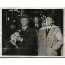 1928 Press Photo Italia crew to Italy, Biogi radio operator in Artic, Podretti