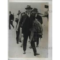 1933 Press Photo South American confereeGeneral Jan Smuts leader of South Africa