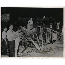 1935 Press Photo John Fonner 18 dies in plane crash at Heidlberg ,PA John's