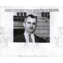 1959 Press Photo Justice Jim Johnson, a segregationist Supreme court judge of