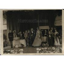 1920 Press Photo Navy League pageant about President Lincoln