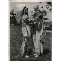 1939 Press Photo Louella Grounds & Grady Roberts