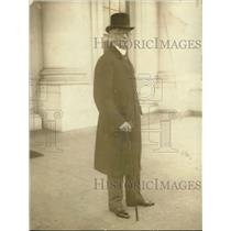 1923 Press Photo Col Harvey Leaving White House