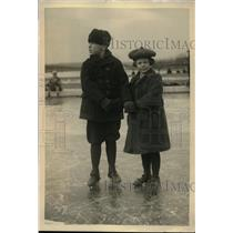 1923 Press Photo Children of Sec. of Navy and Mrs Donby Edwin at Lincoln Wash.