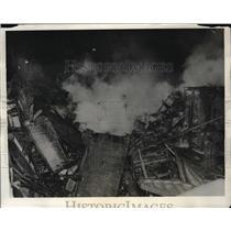 1931 Press Photo Gas Blasts Rock City Of Noneen - nex09475