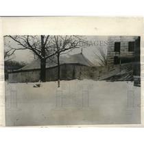 1922 Press Photo Jail Yard In Pontiac Livingston County