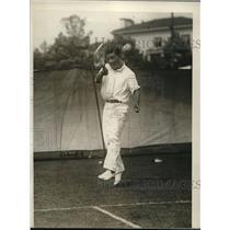 1926 Press Photo Japanese Tennis Champion Sekio Tawara to Play Davis Cup