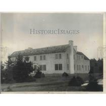 1929 Press Photo Location of Wedding of Col Lindbergh to Anne Morrow in Maine