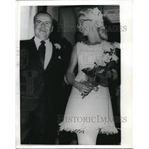 1970 Press Photo Groville Wynn Marries Johanna Van Buren in London - nec70119
