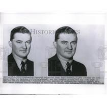 1955 Press Photo Stockholm, Axel H Thorell wins Nobel for Medicine - nec70545