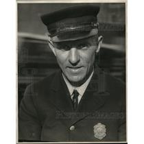 1922 Press Photo Fireman Fred Kriuse
