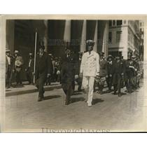 1926 Press Photo Boston Celebrates Independence Day Floyd Benett Pilot