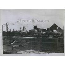 1930 Press Photo Don Badin mining town of Gorlovka in Russia