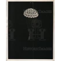 1953 Press Photo A ring slot parachute by Goodyear Aircraft Co. - nec68859