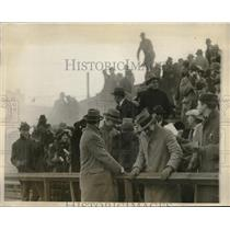 1926 Press Photo MIT demonstration & tear gas to quell rioting at field day