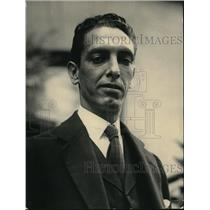 1922 Press Photo Claudio Urrulia of Venezuela