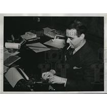 1938 Press Photo David Wittles, Phila Recorder reporter may win Pulitzer