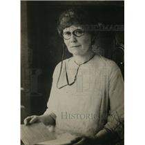 1925 Press Photo Winifred Lee Wayne