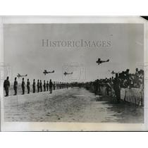 1933 Press Photo General view of the air force at Almaza egypt