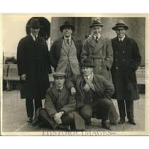 1922 Press Photo Notables Arriving To New York From Europe