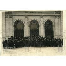 1920 Press Photo Businessmen of The Pan American Financial Conference