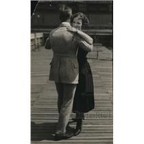 1921 Press Photo Joseph Paul Neville and Mary Kellig