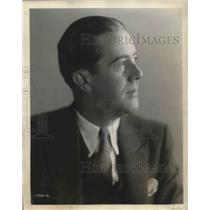 1929 Press Photo William Shelley Interlocutor of Dutch Masters Minstrela