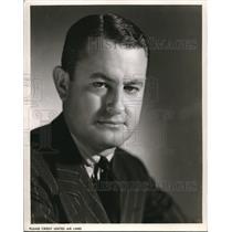 1949 Press Photo B.B. Gregg United Airlines
