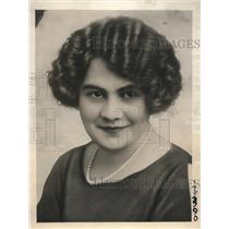 1923 Press Photo Miss Inez Vitez beauty parlor expert & witness in murder trial