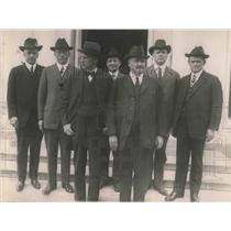 1921 Press Photo Delegation who called on the President to urge appointment