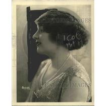 1924 Press Photo Miss Virginia Johnson Soprano