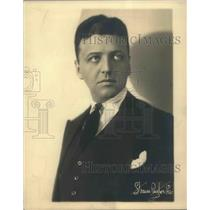 1920 Press Photo Paul Gorden Artists Life