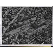 1945 Press Photo An air view of San Francisco site