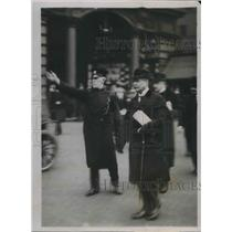 1920 Press Photo Herr Sthamer German Charge d'affairs in England