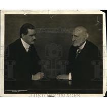 1923 Press Photo Francis M. Hugo Sec.of State Of N.Y. and Senator Chauncey Deper