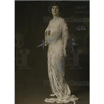 1922 Press Photo Mrs. Marie Dowsett Worthington