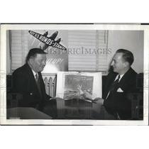 1942 Press Photo Herbert Block Pulitzer prize winner
