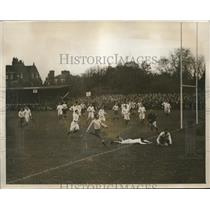 1927 Press Photo Cambridge vs New South Wales at rugby J Ford scores - nes18091