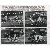 1958 Press Photo Eagles Bobby Watson vs Cardinals Bobby J Conrad - nes18059