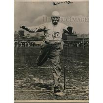 1922 Press Photo 78 Year Old Reyner Wins LCC Sports Meet at Leyton, England
