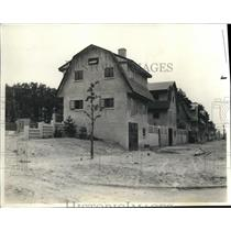 1920 Press Photo View of Kate Gleason's Concrete House in Rochester, NY