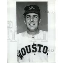 1962 Press Photo Hal Woodeschick of Houston baseball - nes18928
