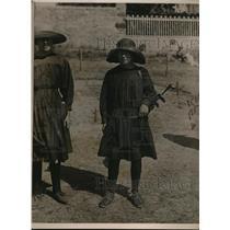 1923 Photo Typical Girl Golf Caddy St. Briac Club Brittany France