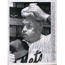 1961 Press Photo NY Mets manager Casey Stengel - nes19263