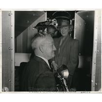 1941 Press Photo New York Arthur Donovan Hollywood Paxie Baer Fleanor Billy Conn