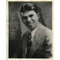 1929 Press Photo Clyde Morse of WHAM in Rochester, New York
